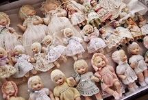 Dolls     Muñecas   de porcelana, vintage'look', antiques, etc