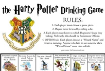 "PRACTICAL Harry Potter Party / Because my other HP party board was too ambitious. / by Kelly ""The Meme Goddess"" Holle"