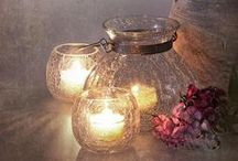 Linternas,lamparas, candelabros,  velas.  lights     etc