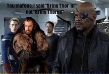 "Nerdvana ~ Avengers Assemble! / Relative to multiple characters, overrun by all things Loki due to my perfectly healthy fascination with the glory known as Thomas William Hiddleston.  / by Kelly ""The Meme Goddess"" Holle"