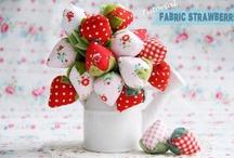 Strawberry  en  velvet   y  otros proyectos  con ellas!