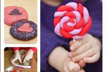 Valentine's Day Ideas for Kids / Valentine's Day crafts, activities for kids, educational ideas, snacks, treats, and play invitations!