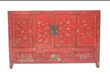 Chinese Antiques / We have a variety of Chinese antiques that range from the simplest basket to bright colourful Mongolian money chests. You can put one piece in a room as an accent or furnish your entire house with these beautiful Chinese antique pieces.   Visit us online to see what's in stock! www.antiquesdirect.ca