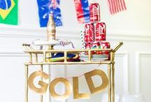 Going for the Gold! / How the Olympics can relate to Design and some other fun items to celebrate the Olympics!