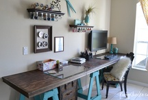 Craft Rooms / Craft room ideas, inspiration and storage solutions.