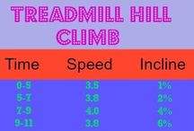 Happy Fit Treadmill Workouts / Treadmill workouts for everyone - walking, running, hill climbs and more.