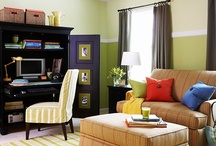 Colorful Inspiration / Beautiful colors for walls, art and life