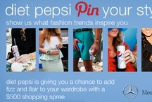 Mercedes-Benz Fashion Week Fizz and Flair / Check out the styles of MBFW and enter for a chance to win a $500 shopping spree in the Diet Pepsi Pin Your Style Contest!