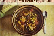 Happy Fit Crock Pot Recipes / Crock pot recipes that are vegan, vegetarian, Paleo and more.