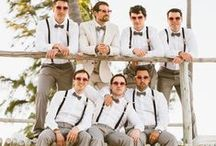 Groom & Groomsmen / Fashion is just as important for your groom and groomsmen!