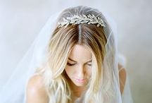 Wedding Hair Accessories / If you're the type of bride who loves a little extra sparkle or some flowers in your hair, here are our favorite accessories for your big day!