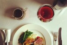 Food and Wine Matches / Great pairings of dishes and wines
