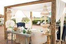 Wedding Lounges / That time in between the ceremony and the reception is a perfect time for a wedding lounge!