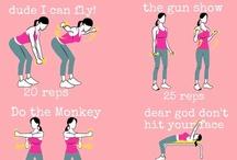 health/exercise / by Mariheida Córdova Sánchez