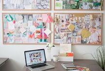 Office Inspiration / Interior design inspiration for the one spot you spend the most of your day in...your office!