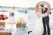 Nautical Wedding / All the nautical inspiration you need for a wedding by the sea!