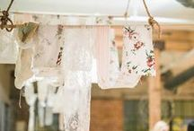Shabby Chic Wedding / Vintage and rustic wedding decor inspiration for a shabby chic bride!