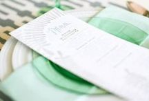 Mint Wedding / Mint is the perfect color for a romantic spring or summer wedding!