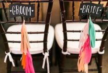 Rainbow Wedding / More of a colorful bride? This rainbow wedding inspiration is perfect for you!
