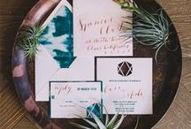 Natural Wedding Details / Wood, organic, and earthy...these are our favorite natural wedding ideas!