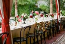 Red Wedding / Red is the color of love! That's why we love these red wedding ideas!