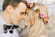 Bohemian Wedding / Boho bride? These bohemian wedding inspirations are full of flower crowns, braids, and flowy dresses!