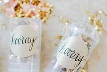 New Year's Eve / Decoration and party ideas for New Year's Eve!