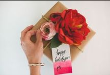 Gift Wrap Ideas / Gift wrap ideas for the holidays, birthdays, and more!
