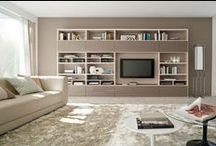 Cabinetry and shelving ideas / by Alicia Esterhuizen
