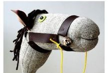 HOBBY HORSES / Ride 'em cowboy! / by Abby Glassenberg