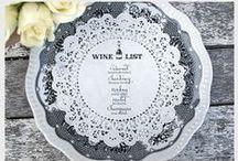 Wine Menu Ideas / Wine menu presentation ideas for restaurants, hotels and caterers.