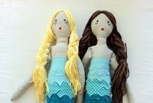 MERMAIDS / Ladies of the sea! Mermaid love.  / by Abby Glassenberg