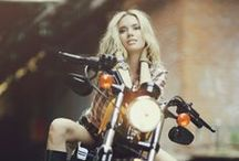 Bikes'n beautiful babes