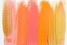 Palettes de couleur / by Caroline Alix