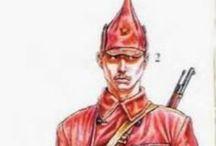 Russian civil war - red army