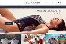 LORANNI EMERGING DESIGNERS ONLINE BOUTIQUE / Enjoy & learn about Loranni's lifestyle with the top of the line products & check out innovative NEW Fashion Designers. Visit us @ www.loranni.com