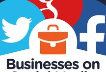 Get Heard Online / A board bursting with social media tips to get your business heard online #GetHeardNoisybird