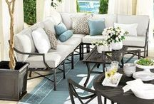 a l f r e s c o / Great ideas for entertaining outdoors.