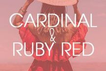 Cardinal + Ruby Red