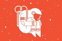Graphic design / Illustrations and typography...