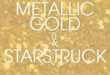 Metallic + Starstruck / Color Inspiration: Metallic Gold and Starstruck Tieks