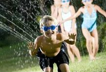 Camp Water Carnival Ideas / Fun Day Friday is a chance to be silly and have Fun!  Everyone at Kennolyn loves Water Carnival Day!