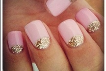 Nail Art / Crazy, creative and beautiful inspiration for fingernails and toes. And who says all 10 nails have to match?