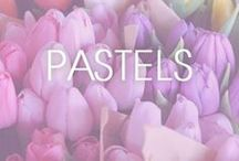 Pretty in Pastels / Because pastels are the new black...