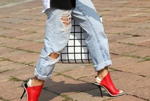 my style inspiration | the boyfriend jeans