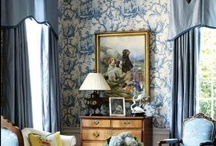 t o i l e / Taking a closer look at rooms devoted to the glorious patterns of toile.