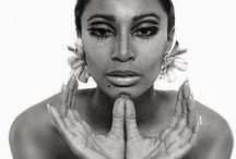 Black fashion icons / by Velvet Lens