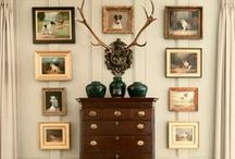 g a l l e r i e s / Home gallery walls -  the design and display of artful collections.