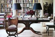 d e s k s  / Writing desks and home offices of interest.
