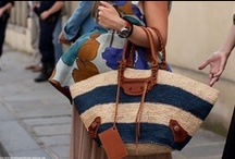 my style inspiration | the straw bag